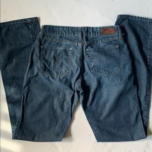 Levi's Bold Curve Bootcut Straight Jeans 28 x 34